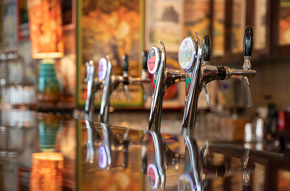 Cornerbar Beer Taps