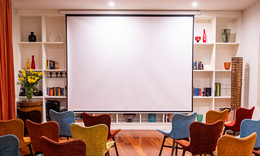Drawing Room Theatre Set-Up