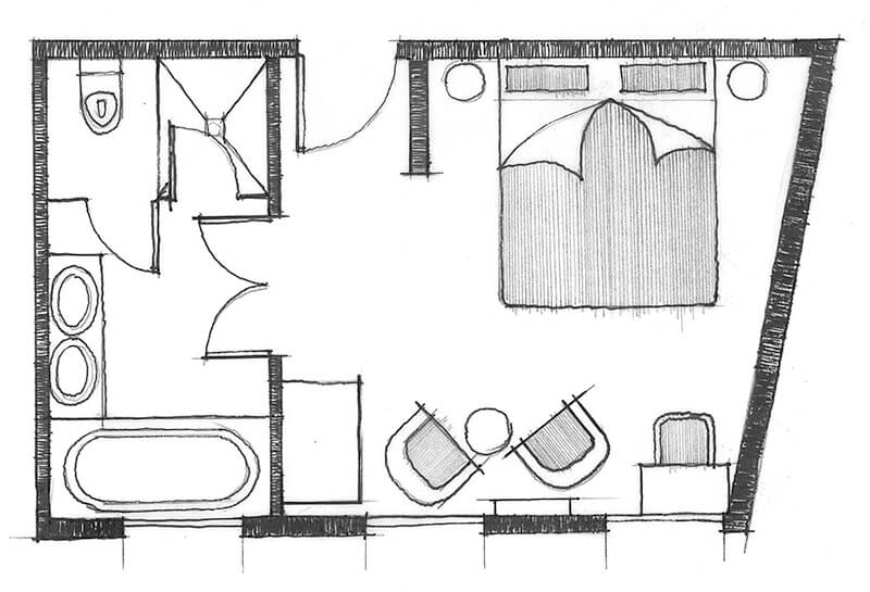 Classic Room Indicative Layout