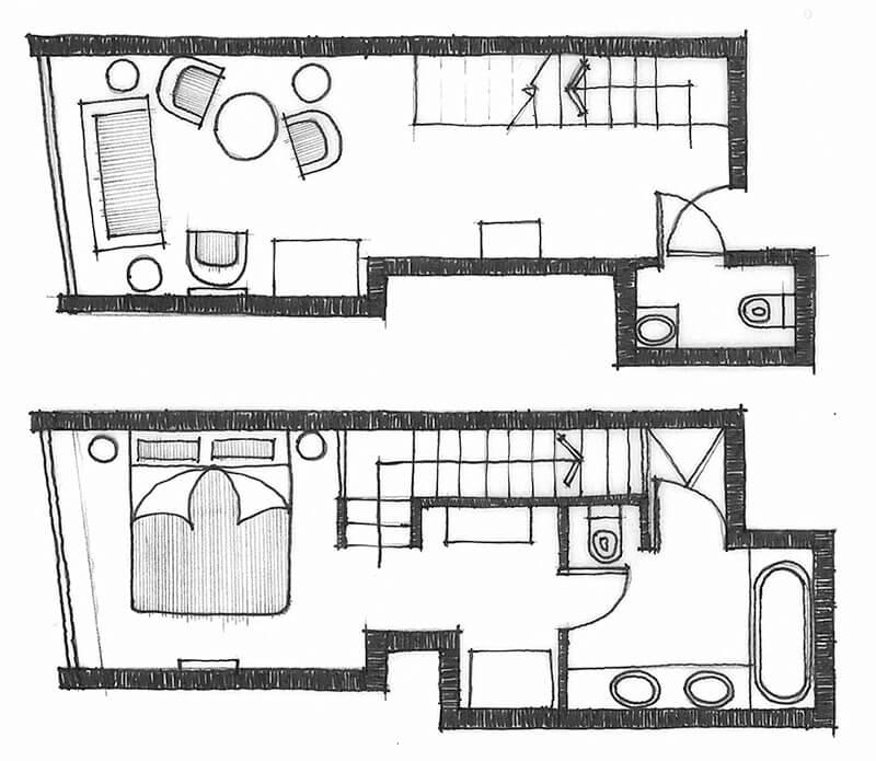 Loft Suite Indicative Layout Type 1