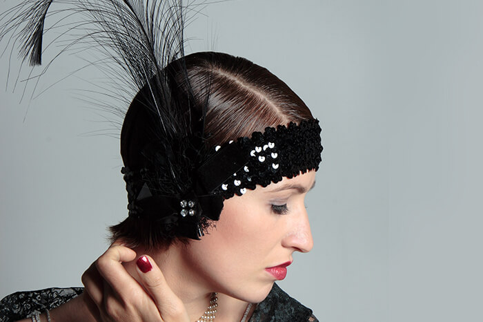 Flapper Headbands